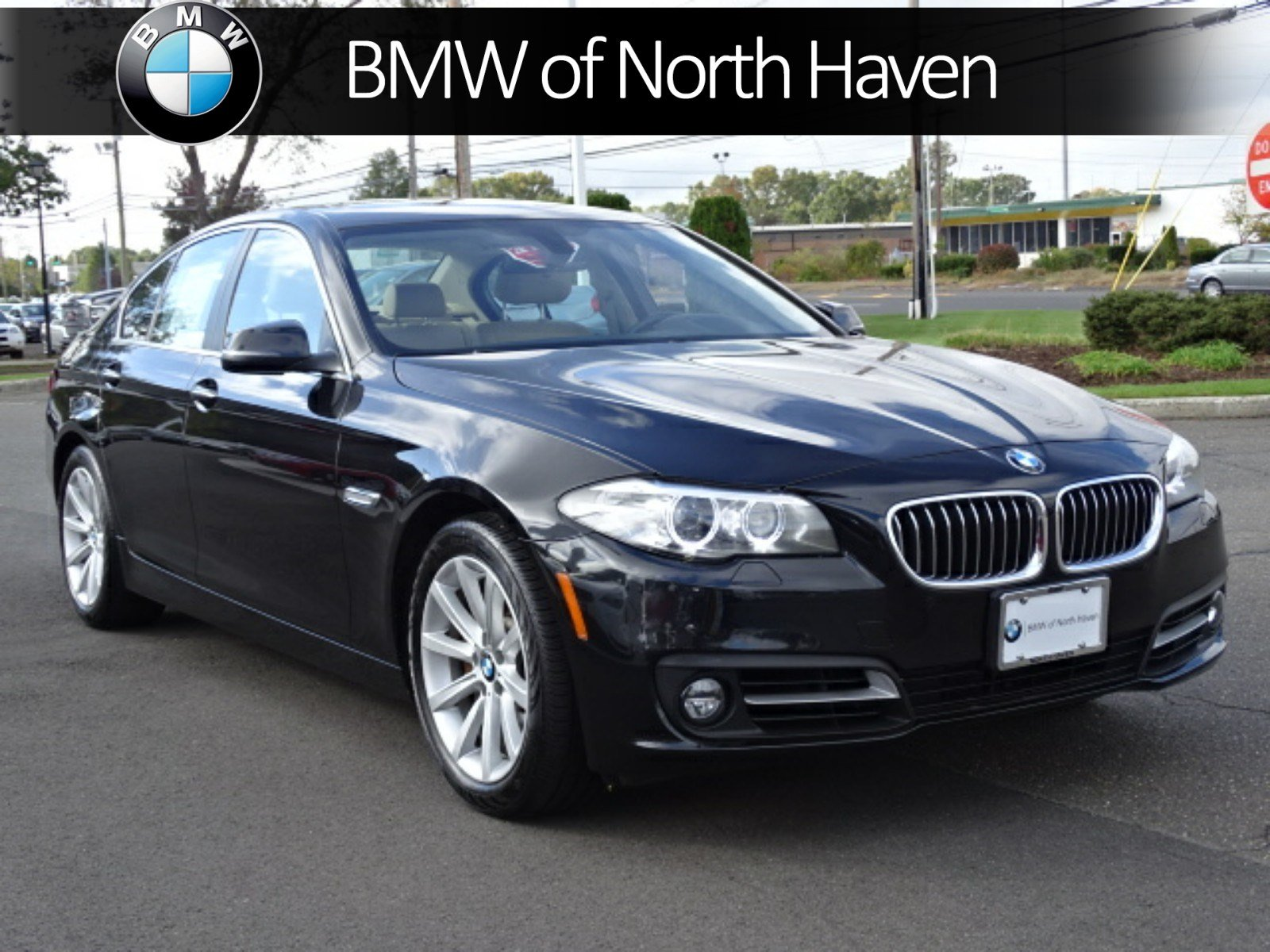 pre-owned 2015 bmw 5 series 535i xdrive 4dr car in north haven