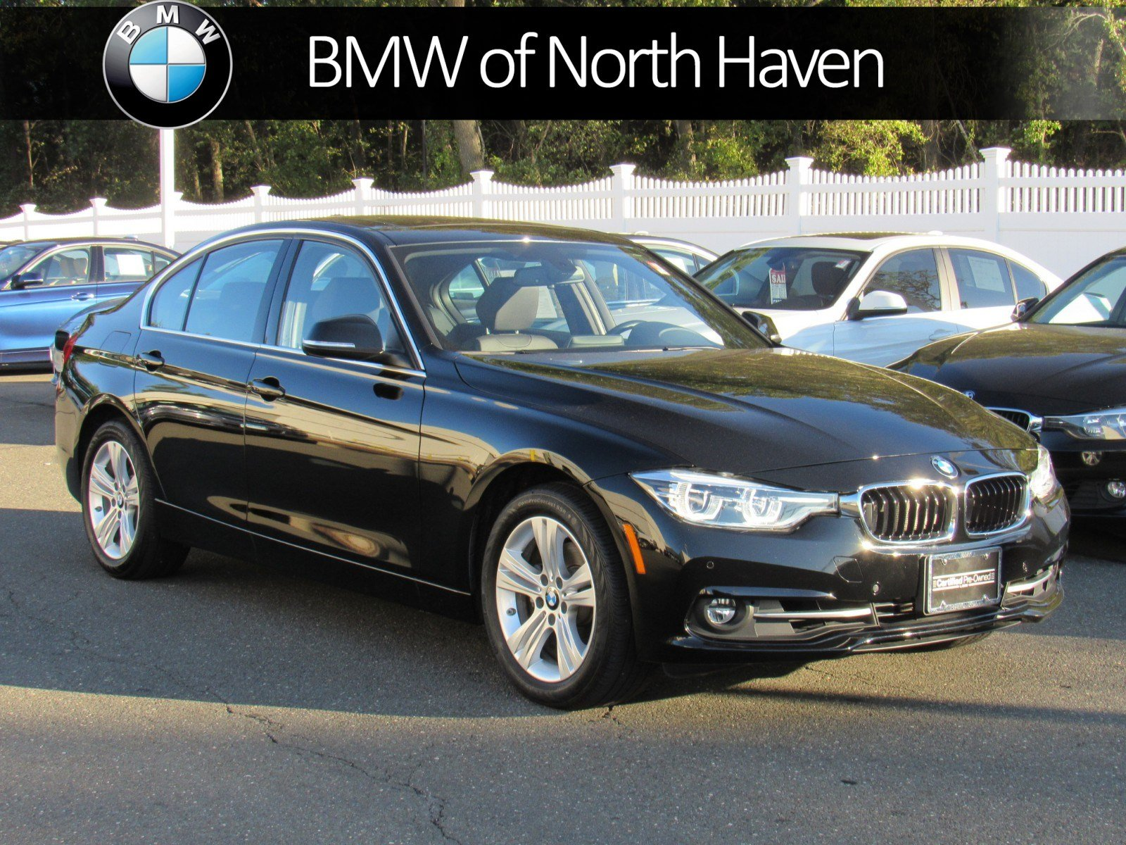 Certified Pre Owned 2017 BMW 3 Series 330i xDrive 4dr Car in North