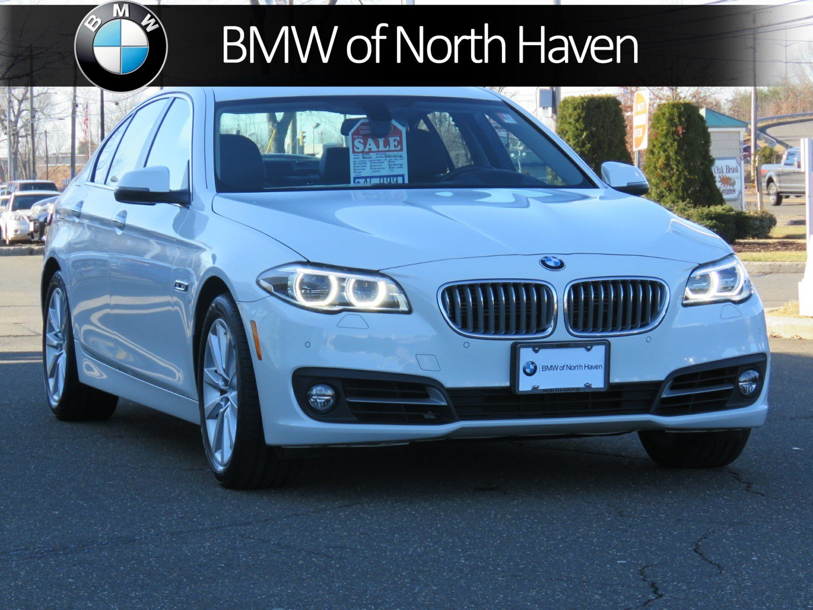 Certified Pre Owned 2015 BMW 5 Series 550i xDrive 4dr Car in North